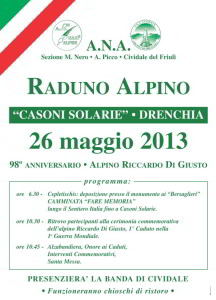 Raduno Alpino @ Drenchia